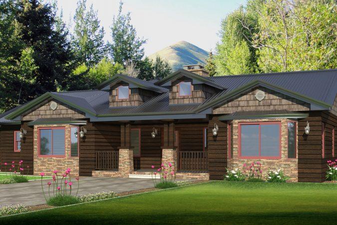A Weekend Getaway Home in Montana