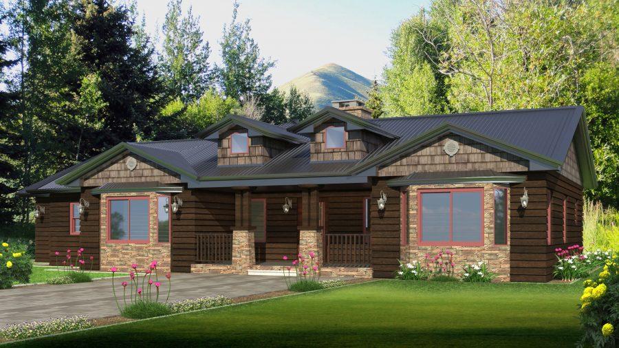 rm designs a weekend getaway home in montana