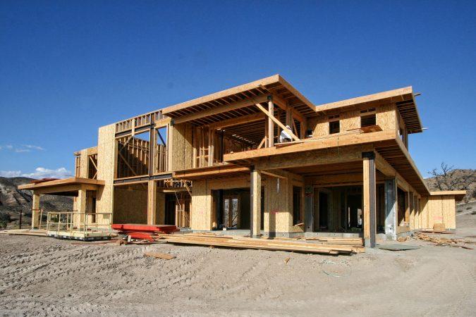 Modern Home in the Hills Progress Photos