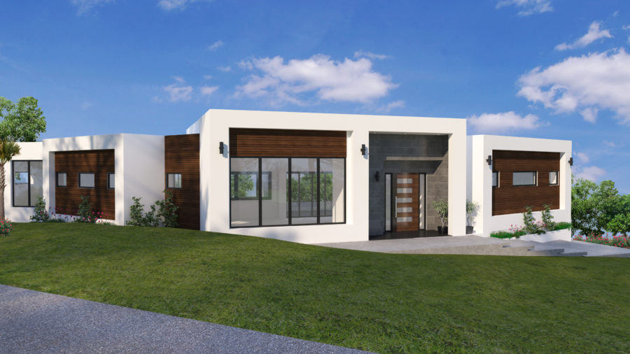Modern The New Family Home